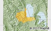 Savanna Style Map of Pogradec
