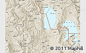 Shaded Relief Map of Pogradec