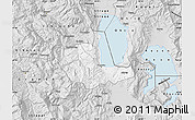 Silver Style Map of Pogradec