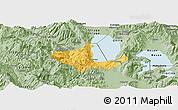 Savanna Style Panoramic Map of Pogradec
