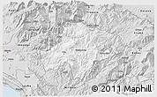 Silver Style 3D Map of Pukë