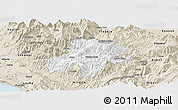 Classic Style Panoramic Map of Pukë