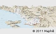 Classic Style Panoramic Map of Sarandë