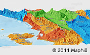 Political Panoramic Map of Sarandë