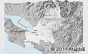 Gray 3D Map of Shkodër