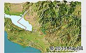 Satellite 3D Map of Shkodër
