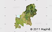 Satellite Map of Shkodër, cropped outside
