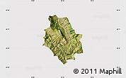 Satellite Map of Skrapar, cropped outside