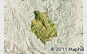 Satellite Map of Skrapar, lighten