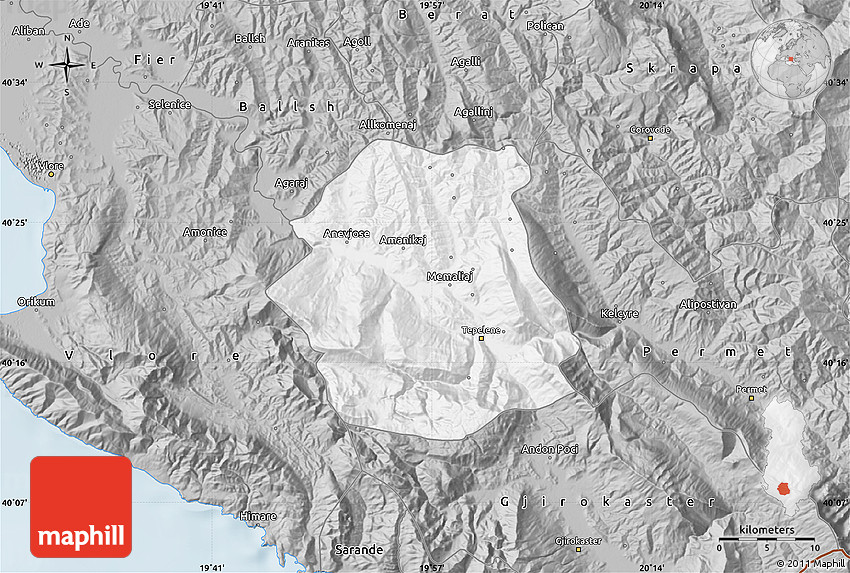 Gray Map of Tepelen