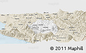 Classic Style Panoramic Map of Tepelenë