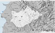 Gray 3D Map of Tiranë