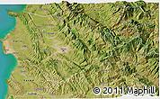 Satellite 3D Map of Tiranë