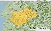 Savanna Style 3D Map of Tiranë