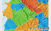 Political Map of Tiranë