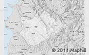 Silver Style Map of Tiranë
