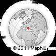 Outline Map of Tiranë