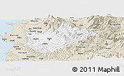 Classic Style Panoramic Map of Tiranë
