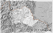Gray 3D Map of Tropojë