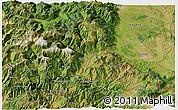 Satellite 3D Map of Tropojë