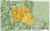 Savanna Style 3D Map of Tropojë