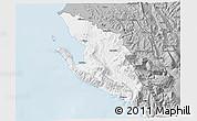 Gray 3D Map of Vlorë