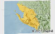 Savanna Style 3D Map of Vlorë