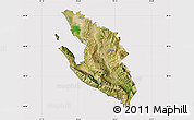 Satellite Map of Vlorë, cropped outside