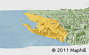 Savanna Style Panoramic Map of Vlorë