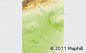 Physical 3D Map of Adrar