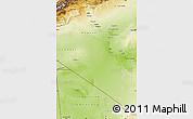 Physical Map of Adrar