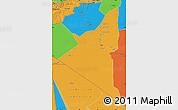 Political Map of Adrar