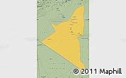 Savanna Style Map of Adrar