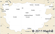 Classic Style Simple Map of Ain Dafla