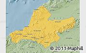 Savanna Style Map of Ain Tamouchent
