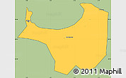 Savanna Style Simple Map of Alger, cropped outside