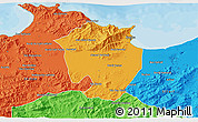 Political 3D Map of Annaba