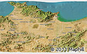 Satellite 3D Map of Annaba