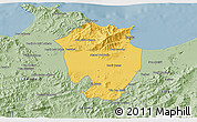 Savanna Style 3D Map of Annaba
