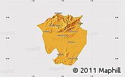 Political Map of Annaba, cropped outside