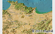 Satellite Map of Annaba