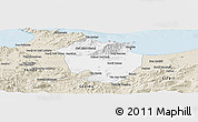 Classic Style Panoramic Map of Annaba