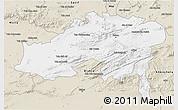 Classic Style 3D Map of Batna