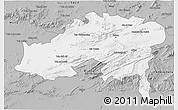 Gray 3D Map of Batna