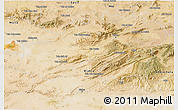Satellite 3D Map of Batna