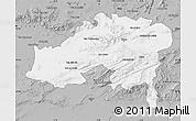 Gray Map of Batna