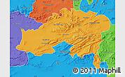 Political Map of Batna