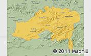 Savanna Style Map of Batna