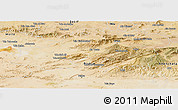Satellite Panoramic Map of Batna