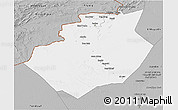 Gray 3D Map of Bechar